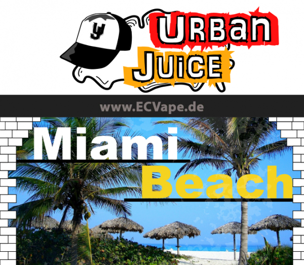 Miami Beach 10ml - Urban Juice
