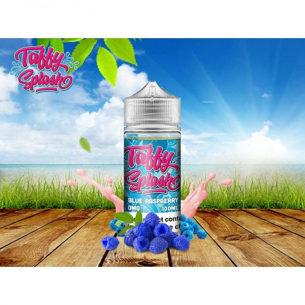 Taffy Splash Blue Raspberry (80ml)