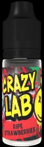 Ripe Strawberries 10ml - Crazy Lab Aroma