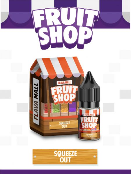 Squeeze Out 10ml - Fruit Shop Aroma