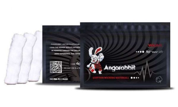Angorabbit Cotton Wickelwatte