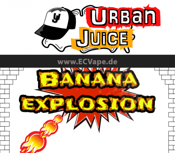 Banana Explosion 10ml - Urban Juice