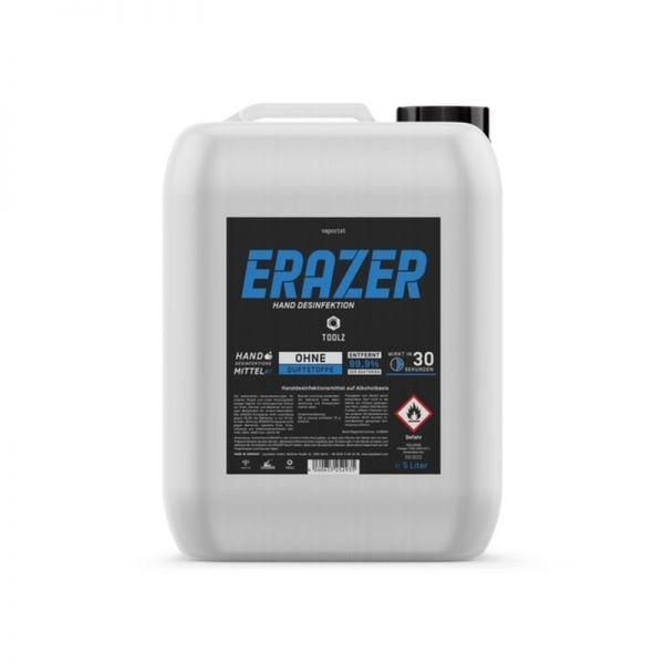 Vaporist Erazer Blue Handdesinfektionsmittel 5L Kanister