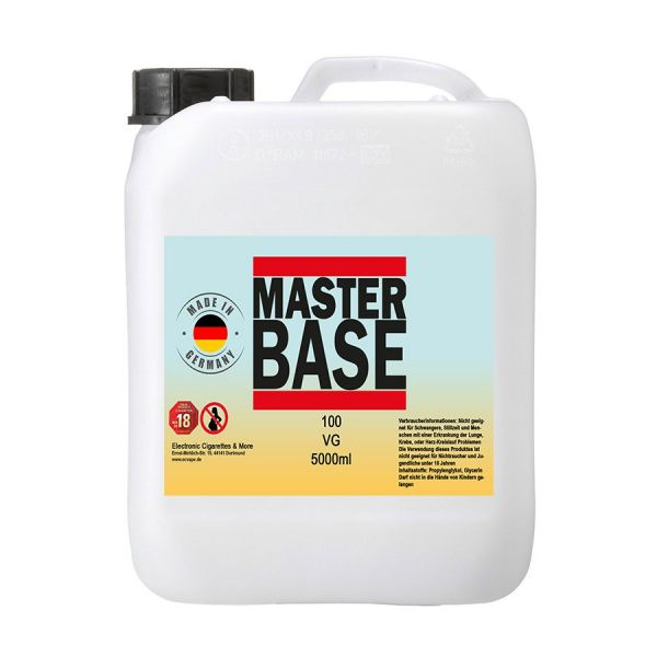 5000 ml E-Liquid Basis Base 5 Liter Base für E-Zigarette