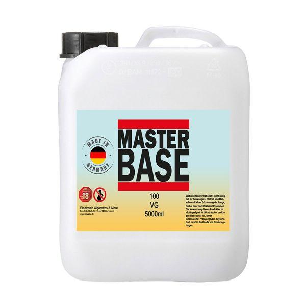 5000 ml E-Liquid Basis Base 5 Liter Base für E-Zigarette