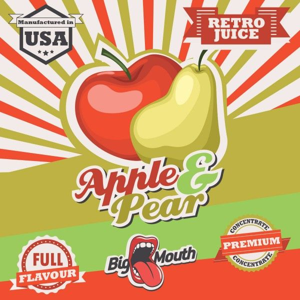 Big Mouth Aroma Apple and Pear 30ml
