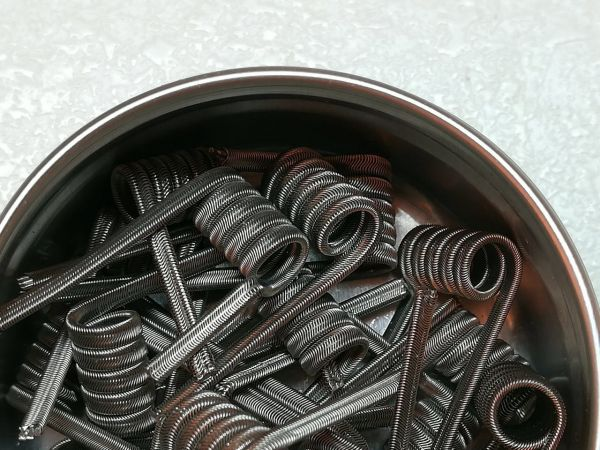 Alien Clapton Wire Handmade Coils