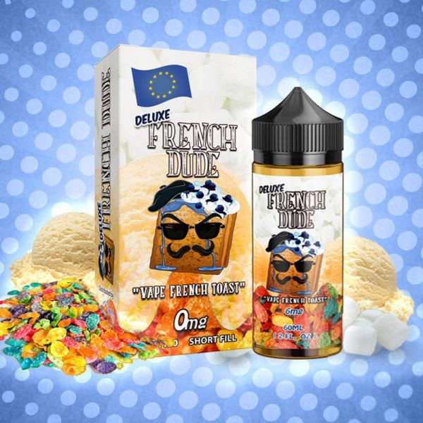 Deluxe French Dude (100ml) Plus - Vape Breakfast Classics