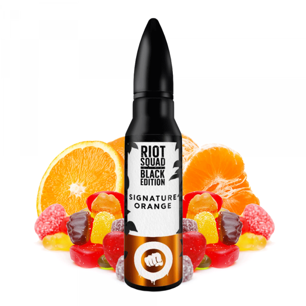Riot Squad Black Edition Signature Orange Aroma 15 ml