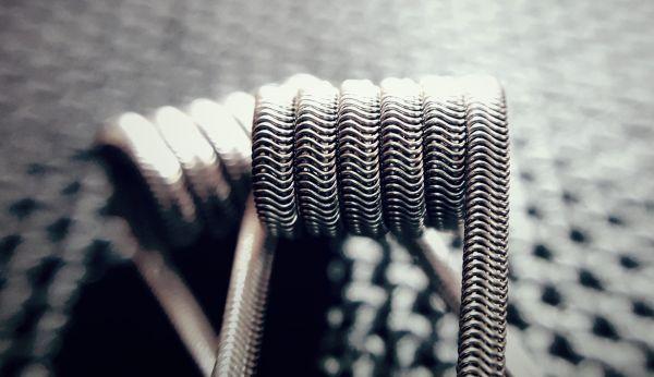 3 Kern Alien - Handmade Coils - 3x 0,3 V4A Edelstahl