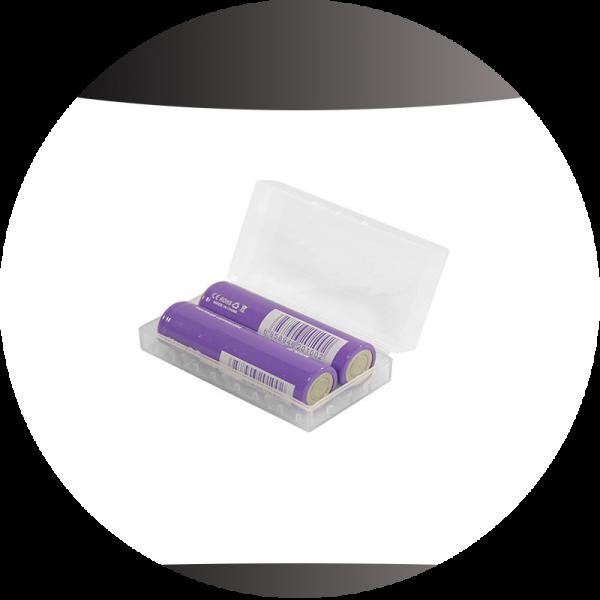 Aufbewahrungsbox für 2×18650 oder 4×16340