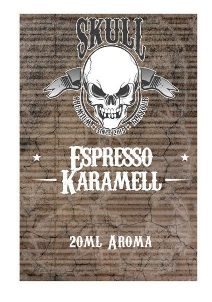 Skull - Espresso-Karamell Aroma 20ml