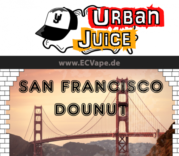 San Francisco Donut 10ml - Urban Juice