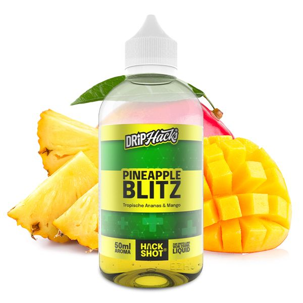 Drip Hacks PINEAPPLE BLITZ Hack Shot Aroma Longfill 50 ml