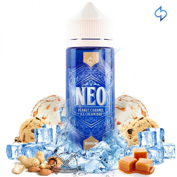 Sique - Neo - Peanut Caramel Ice Cream Bar 100ML