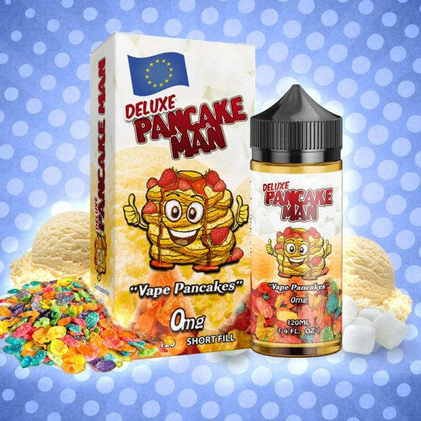 Deluxe Pancake Man (100ml) Plus - Vape Breakfast Classics