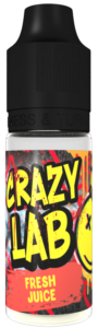 Fresh Juice 10ml - Crazy Lab Aroma