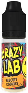 Biscuit Cookies 10ml - Crazy Lab Aroma