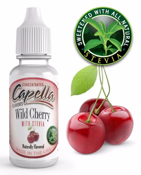 Capella Aroma Wild Cherry with Stevia 13ml