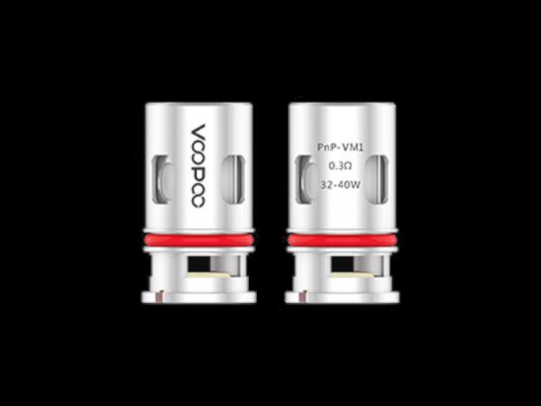 VooPoo PnP-VM1 0,3 Ohm Head (5 Stück pro Packung)-Copy