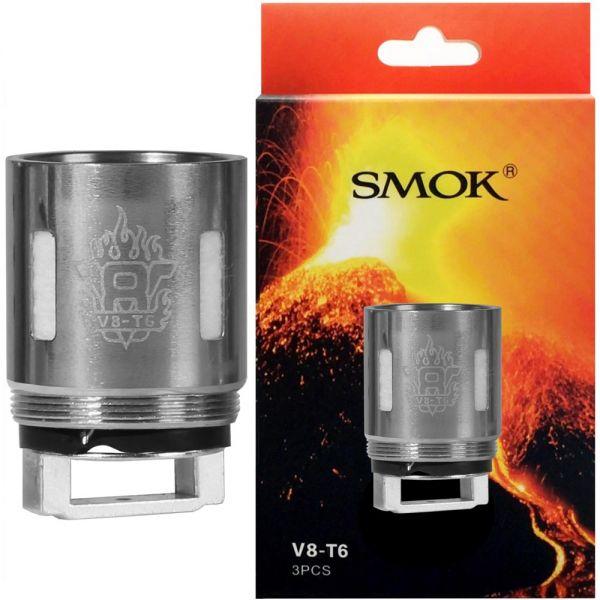 Smoktech SMOK TFV8 Verdampferköpfe (3er Pack) V8-T6