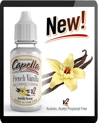 Capella Aroma French Vanilla V2 13ml