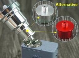 Dripper-Flasche mit Squonker Refill System