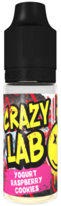 Yogurt Raspberry Cookies 10ml - Crazy Lab Aroma