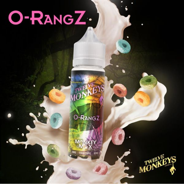 O-RangZ 50 ml - Twelve Monkeys